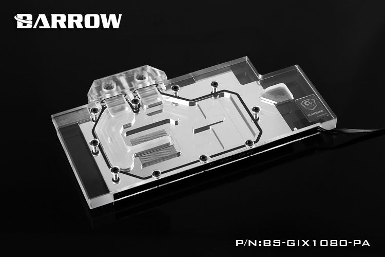 Barrow Bs Gix1080 Pa Water Cooling Block For Giga Gtx1080 1070