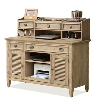 coventry credenza desk and small hutch i riverside furniture