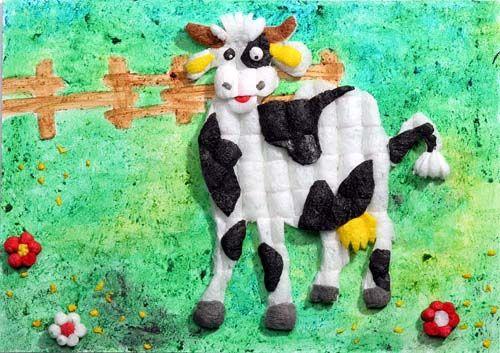 Fischer Tip Mal Modelle Kuh Modell Vorlagen
