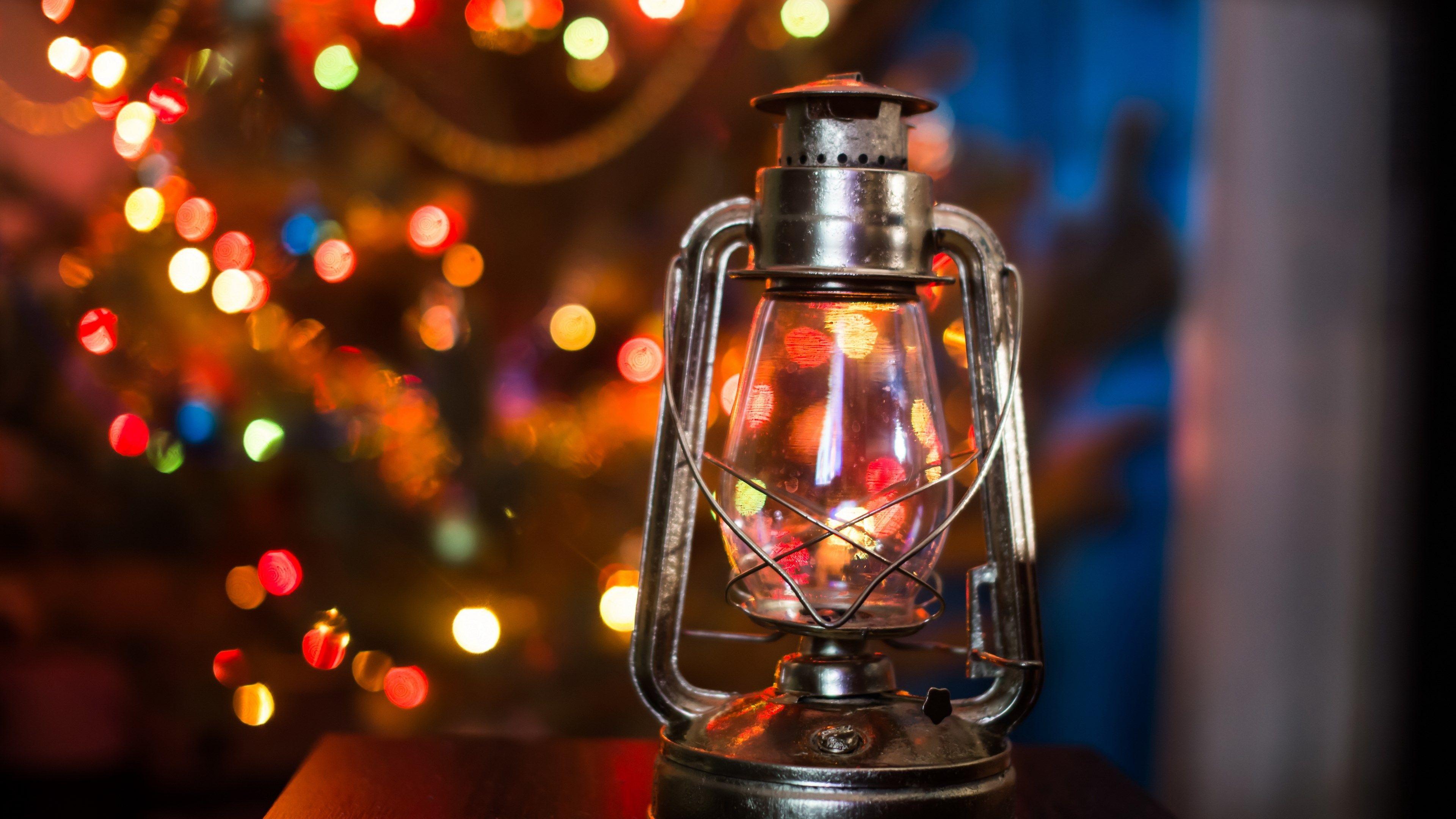 4k wallpaper image download (3840x2160) Christmas lamp