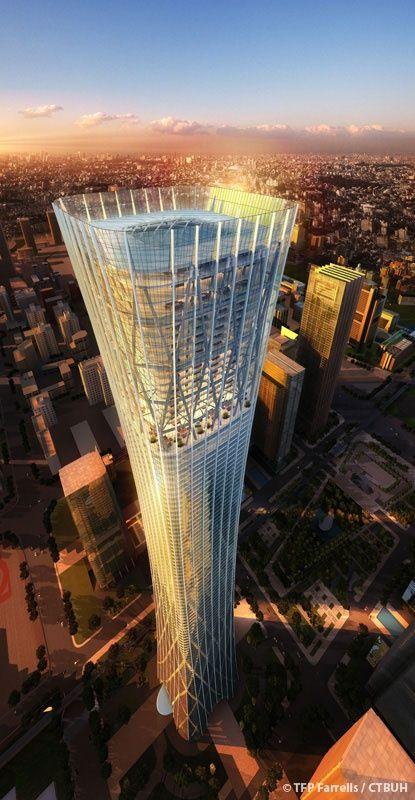 Fabulous Skyscrapers that will blow your Mind !!! (10 Pics) , Zhongguo Zun in Beijing.
