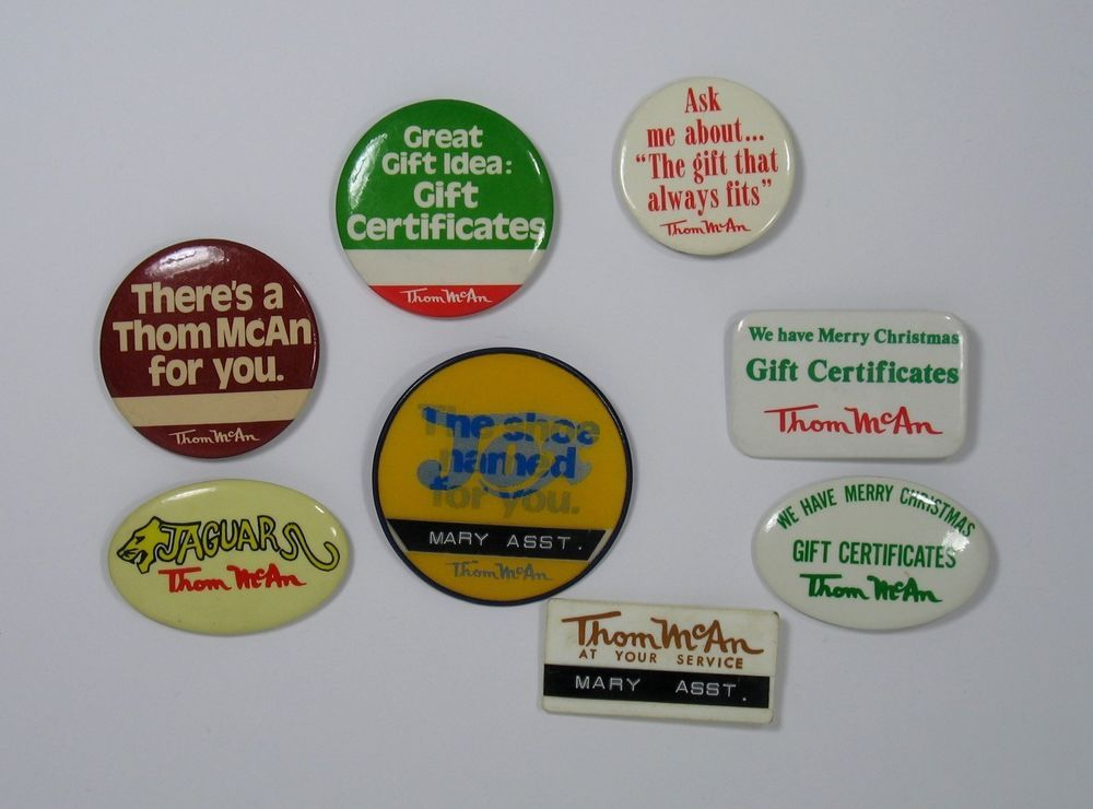 "Brands 1.25/"" Buttons or Magnets Vintage 1980/'s Toy Line"