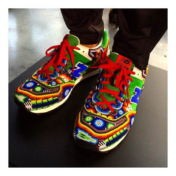 buy popular 9c154 1d5dc Beaded New Balance shoes | G U I D E M Y F E E T . . . in ...