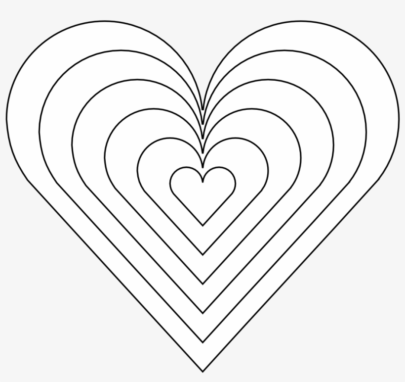Heart Coloring Sheet Printable Collection