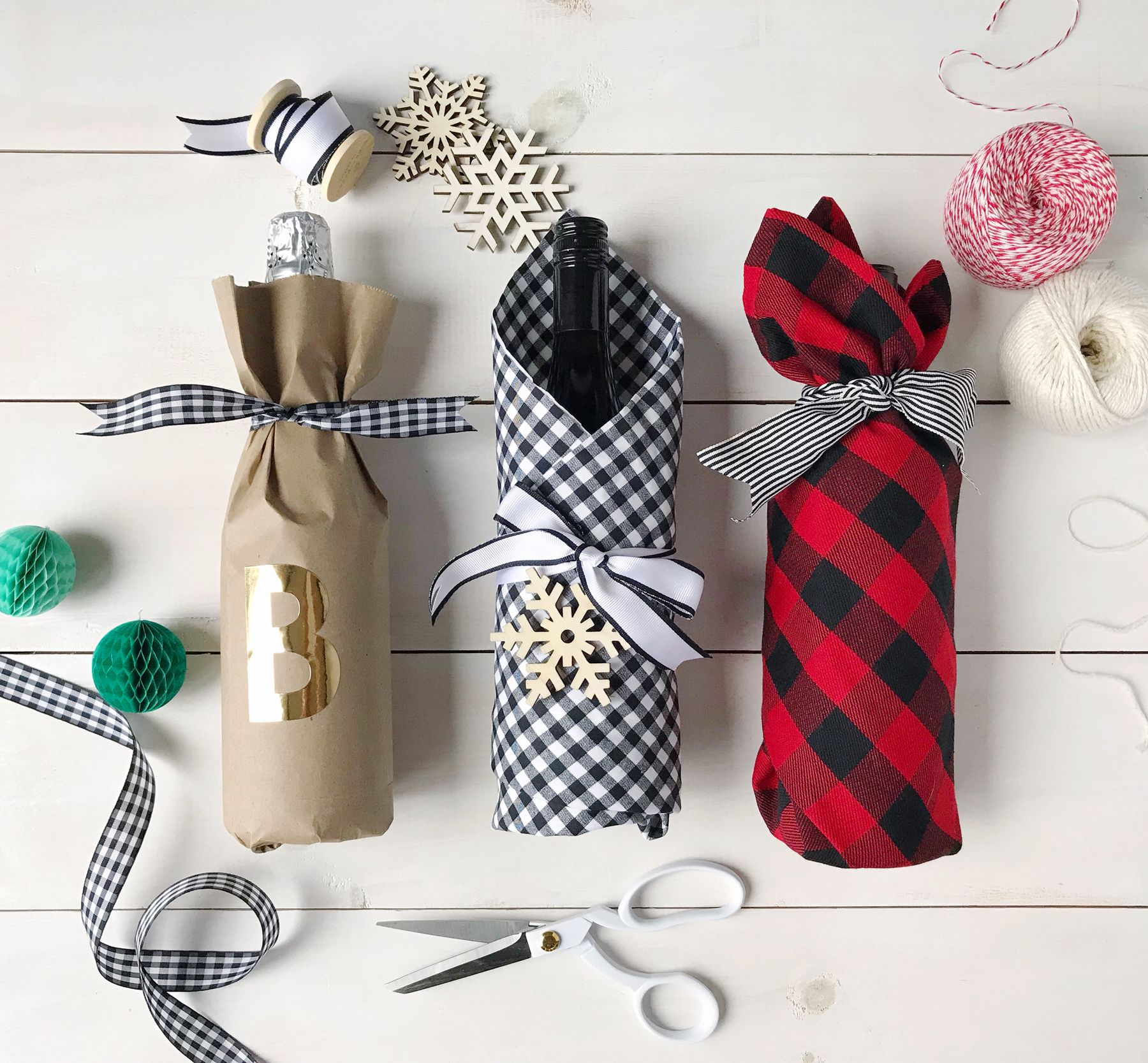 Hostess Gifts Wine And Diy Wrapping Ideas With Images