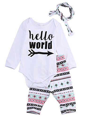 3Pcs Newborn Baby Girls Infant Outfit Set Romper T-shirt+... https://www.amazon.com/dp/B01KFK7SOU/ref=cm_sw_r_pi_dp_x_t5.1xb2Z02CRW