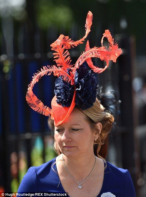 Great day out: Many of the racegoers had clearly gone to some trouble to look good - and a...