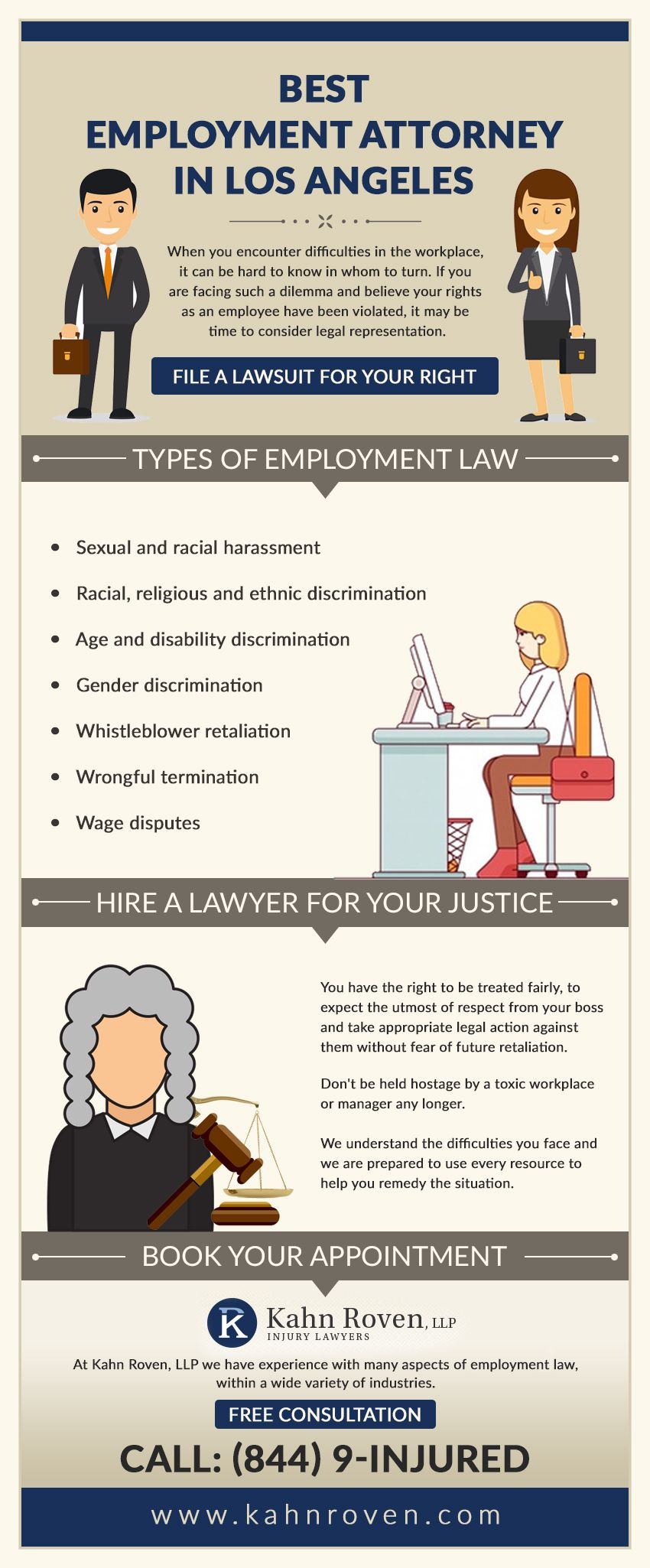 Employment Law Kahn Roven Llp Employment Law Age Discrimination Attorneys