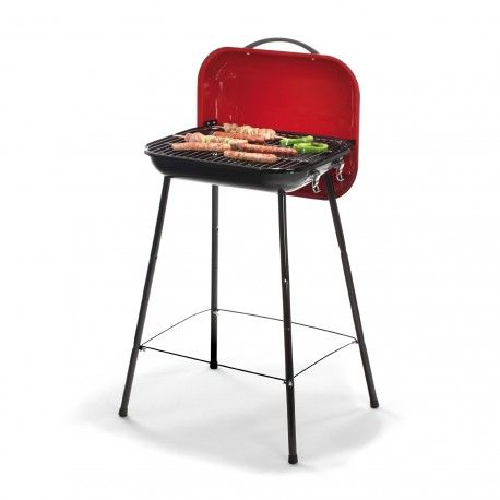 barbecue charbon holiday grill valisette