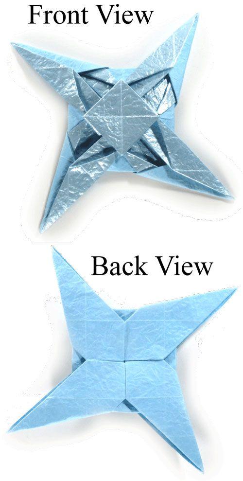 How To Make A Fancy Origami Ninja Star Httporigami Make