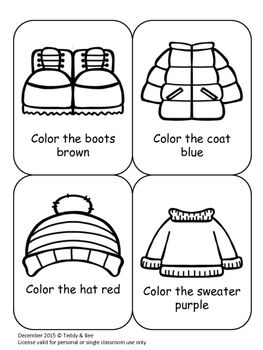 Winter Clothes Colouring Sheet Winter Outfits Winter Coloring Sheets
