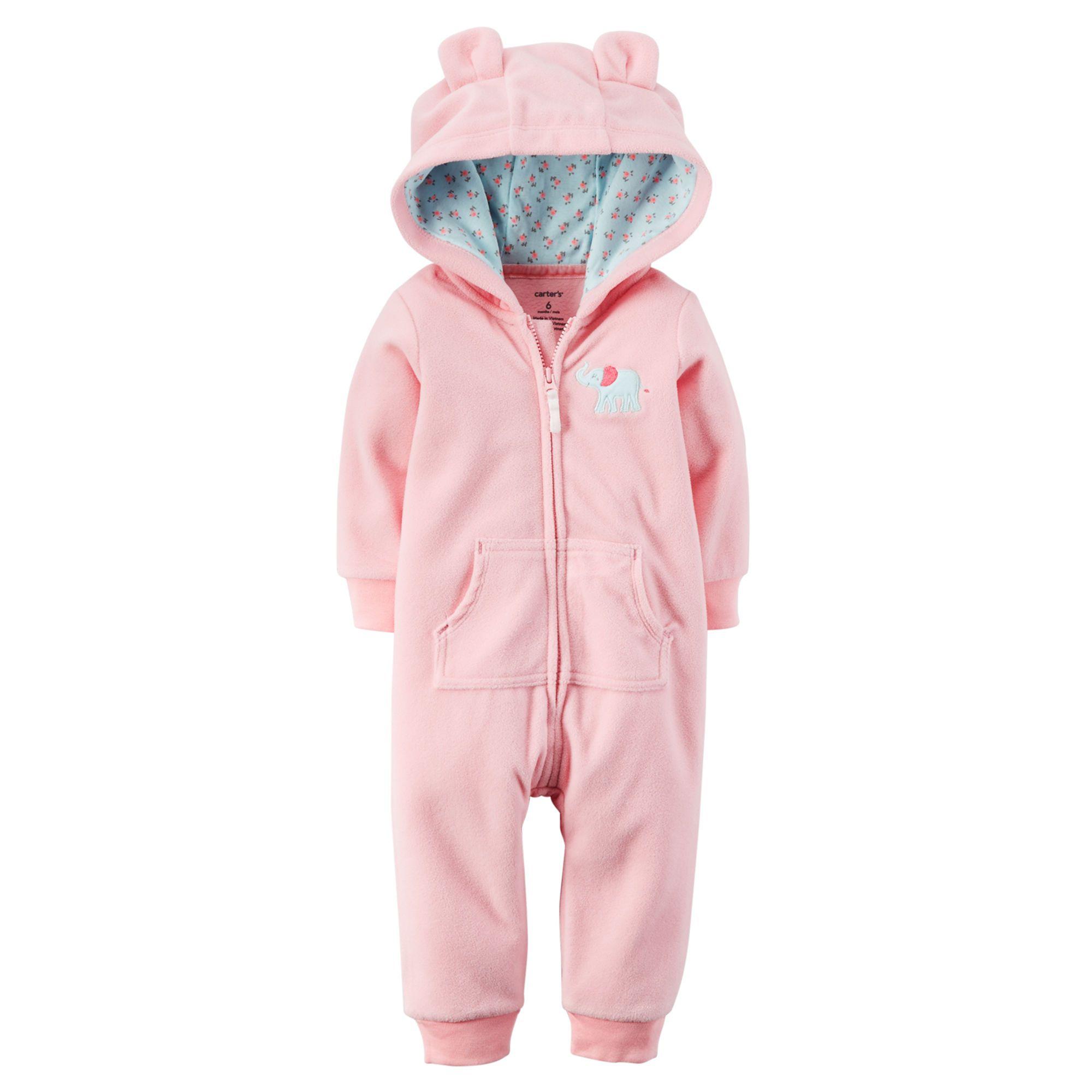 ed487fd954 Baby Bear Fleece Jumpsuit   Carters.com   A Princess Maybe?   Baby ...