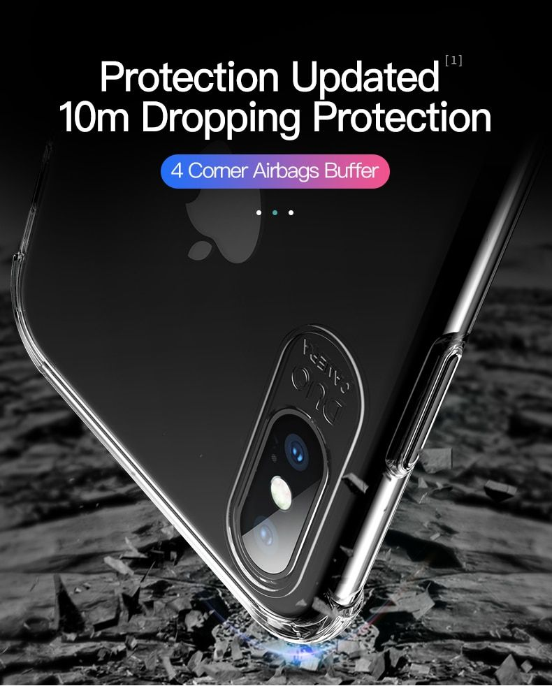 pretty nice 1dc55 240f2 Mobile Phone Cases for iPhone Xs Max Case Transparent Crystal Airbag ...