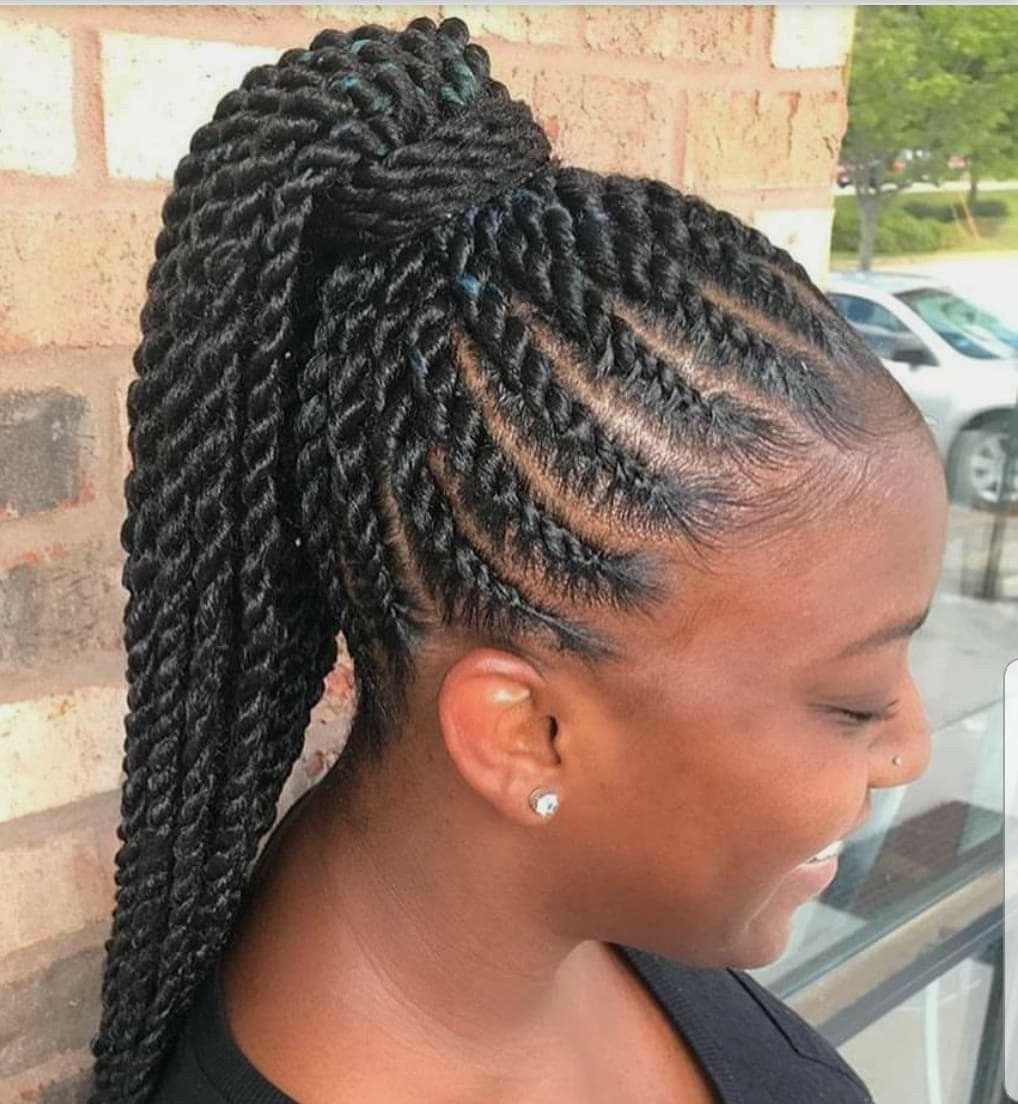 Corn Row Dtyle Natural Hair Styles African Braids Hairstyles Braided Hairstyles