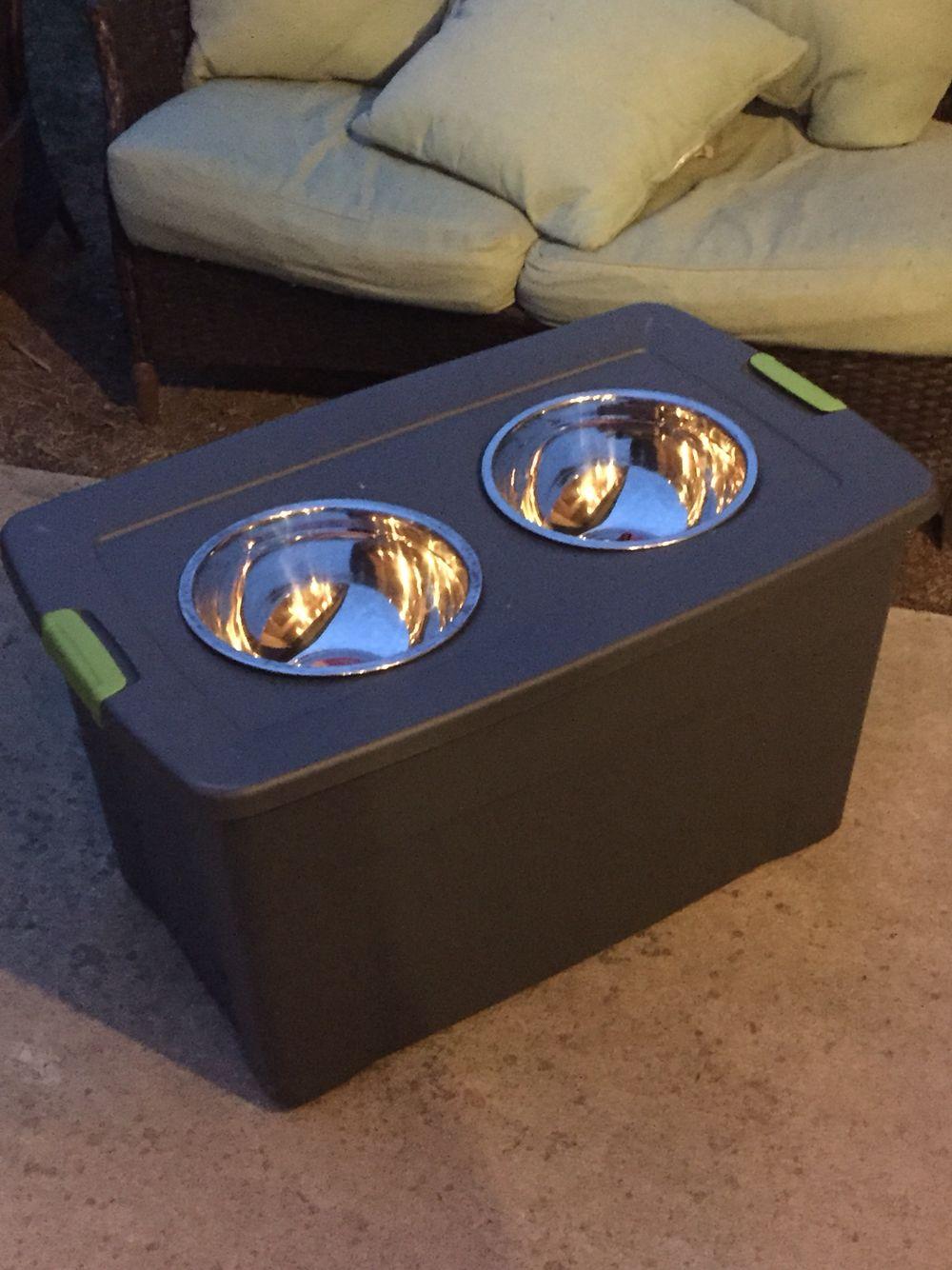 Great Dane Feeder 27 Dollars In Materials Great Dane Dogs