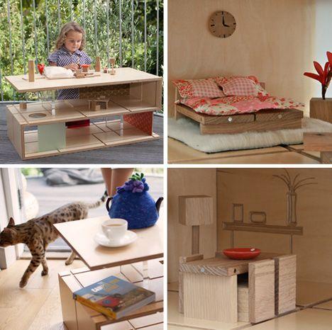 miniature modern furniture. plain modern dollhouse modern furniture 1000 images about on pinterest  miniature custom dolls and chairs u throughout furniture o