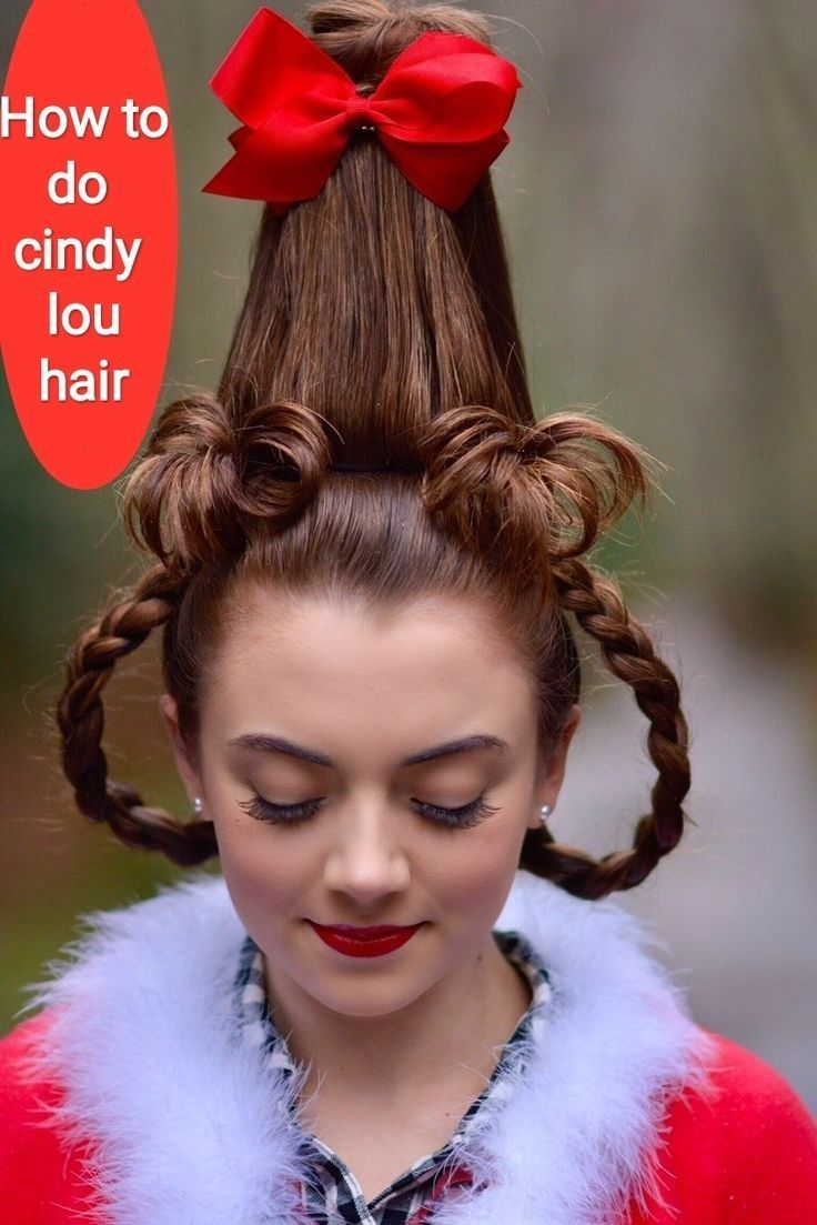 How to do cindy lou hair