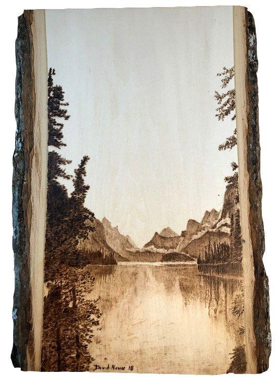 Photo of Peaceful Days Woodburning on Bass Wood
