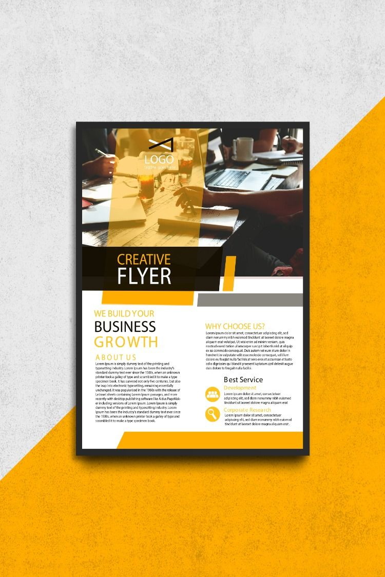 Creative Business Flyer flyer poster banner social