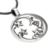 Man On The Moon Pewter Pendant Necklace Dan Jewelers. Save 32 Off!. $13.57. Hypoallergenic. Dan Jewelers has tens of thousands of positive feedbacks across the internet.. Does not tarnish. Satisfaction guaranteed.. Good value