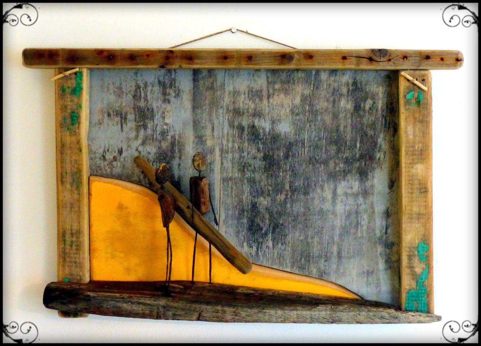 driftwood surf art bois flott vend e upcycling. Black Bedroom Furniture Sets. Home Design Ideas