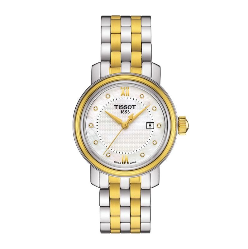 Tissot Bridgeport Ladies Bi-colour Watch. - Geeves Jewellers - suppliers of watches and jewellery, London