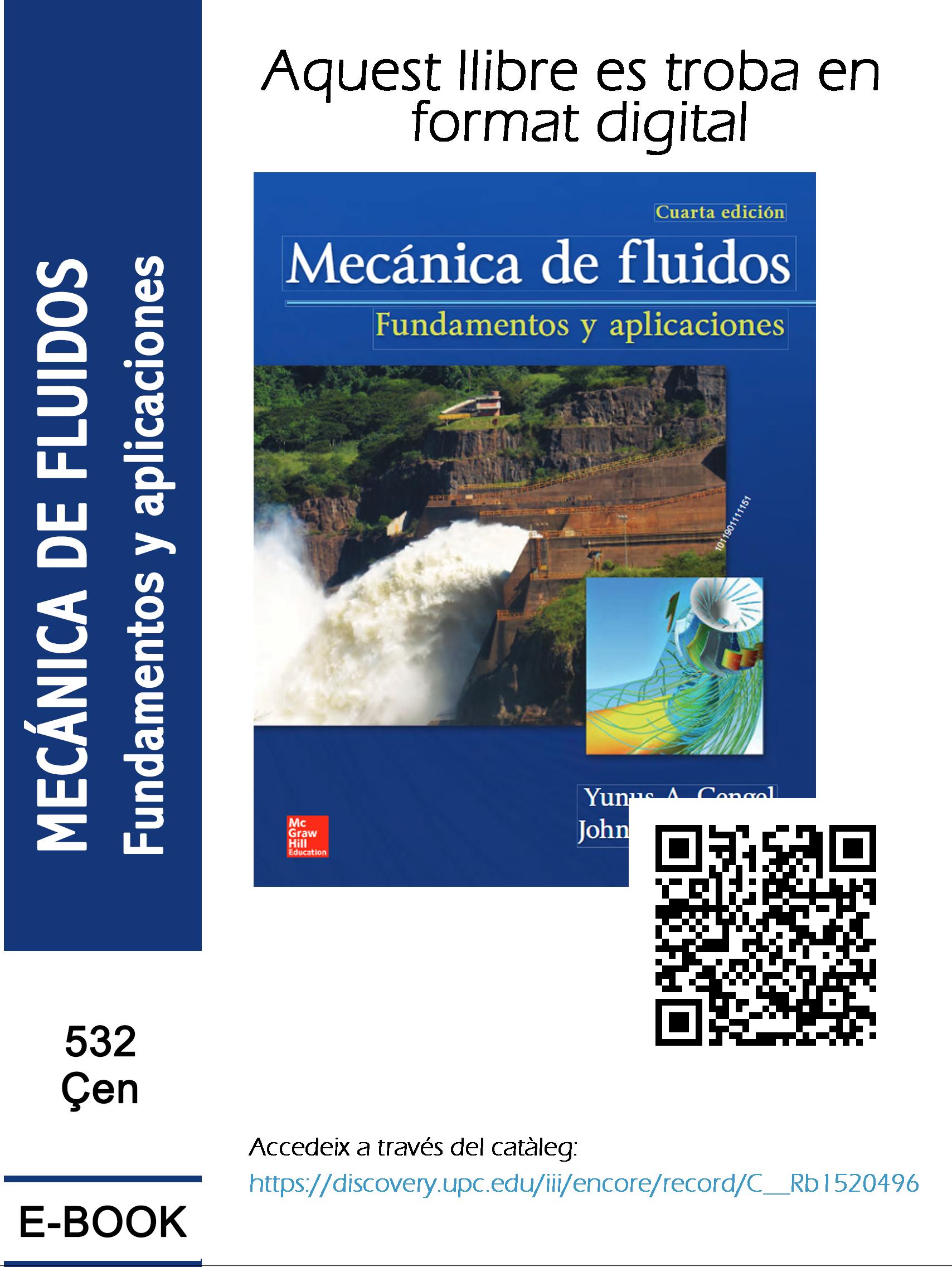 Enfl Mecánica De Fluidos Fundamentos Y Aplicaciones Mecanica De Fluidos Todo Fluye Mecanica