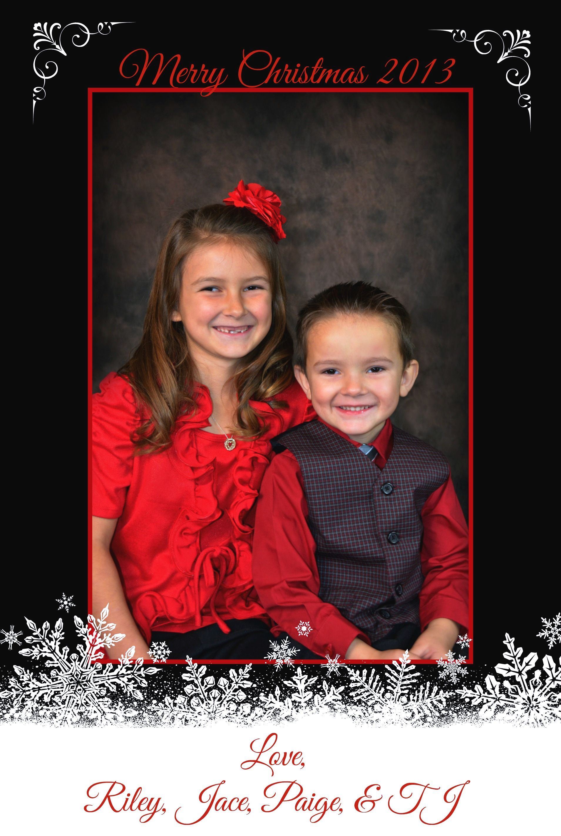 Our Christmas Cards -2013