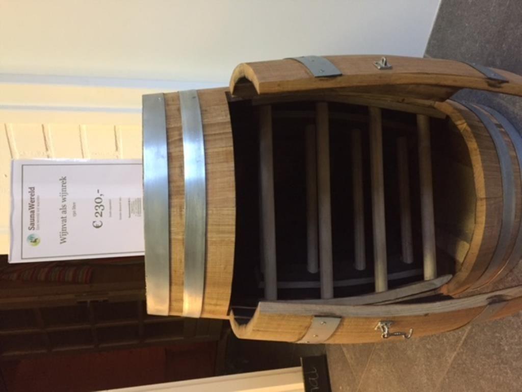 Goede ≥ Wijnvat als wijnrek /150 en 200 liter met/zonder deur 809 TH-21