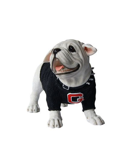reputable site 3fd7c 47d6b GeorgiaBulldogs (Large) #Uga Figurine, Black Sweater Jersey ...