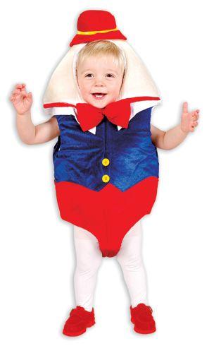Humpty Dumpty Toddler Infant Halloween Costume | savingfashioncost.com