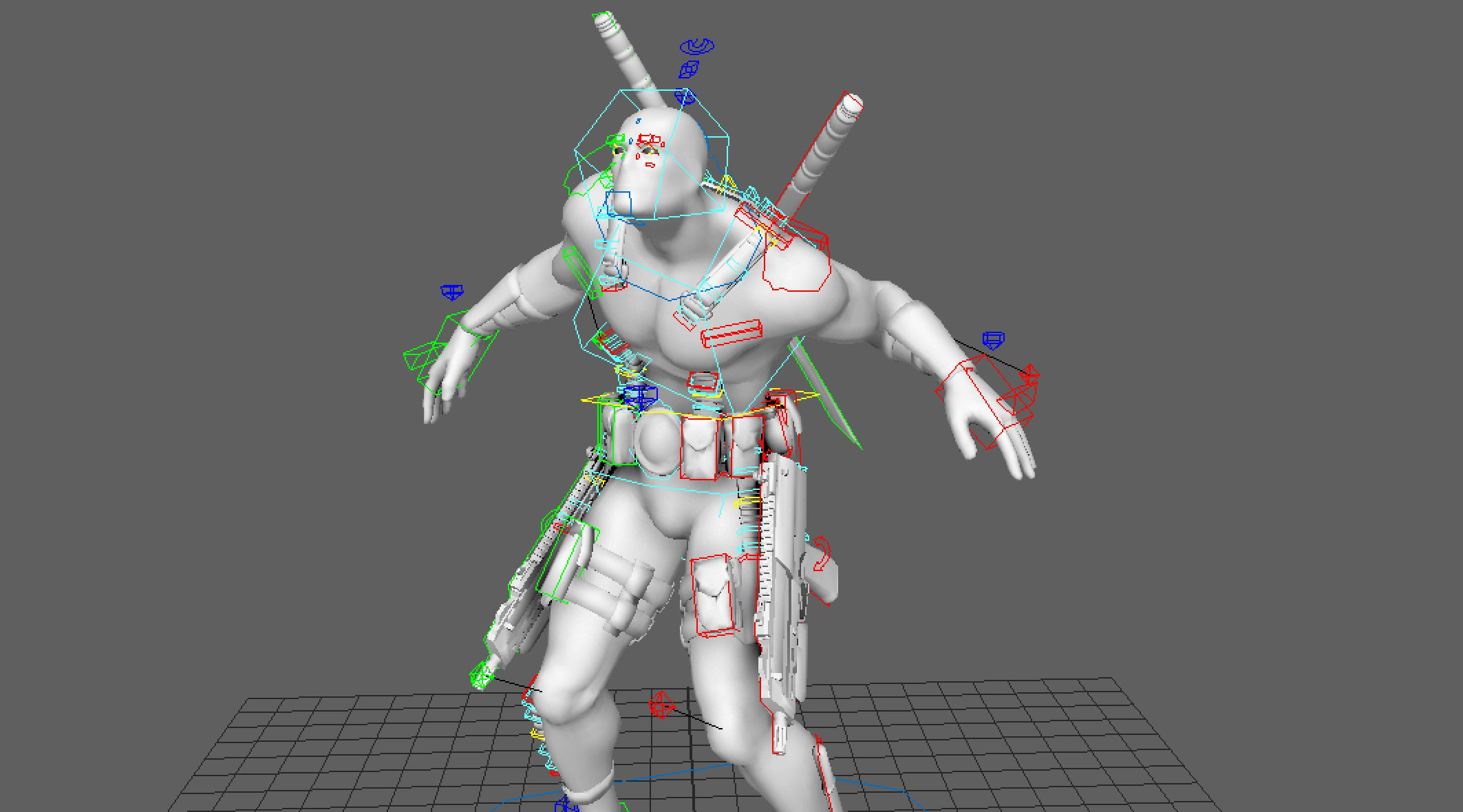Download Free Rigged 3d Model | Character rigging, Model, 3d