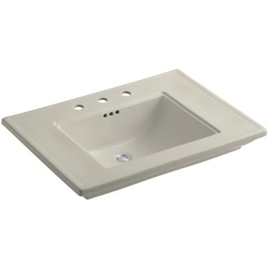 Kohler Memoirs 30 Pedestal Bathroom Sink Top Only Sandbar