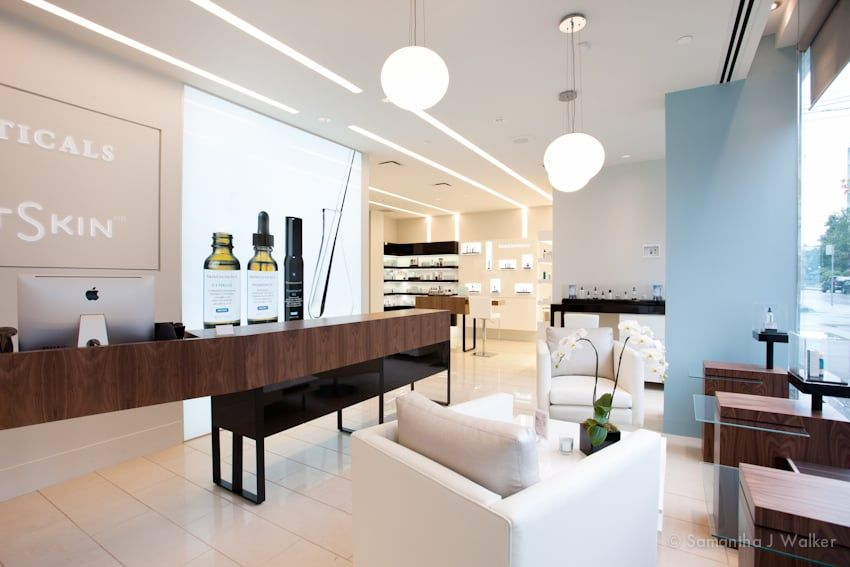 Photo Of Project Skin Md Vancouver Bc Canada Skinceuticals Advanced Clinical Spa On The Main Floor Clinic Interior Design Skin Md Commercial Design