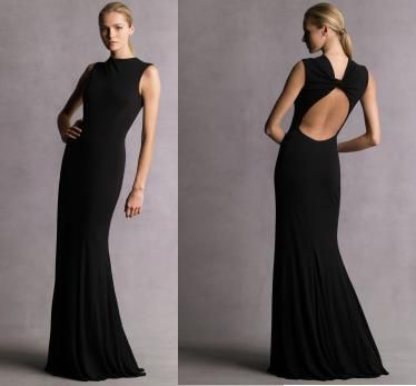 Beautiful and simple black gown....love it!! | Simply Beautiful ...