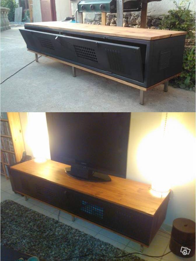 meuble tv en metal mobilier de salon