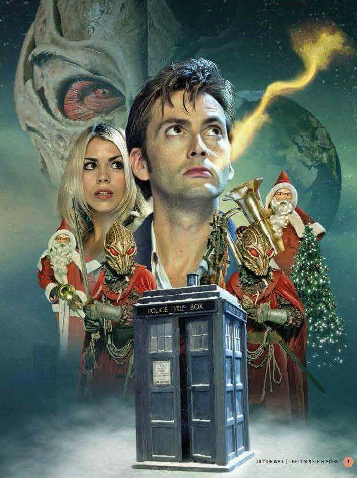 Doctor Who The Christmas Invasion.The Christmas Invasion Introducing The 10th Doctor David