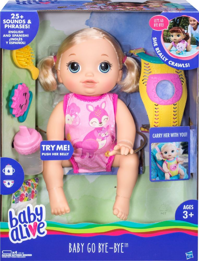 Baby Alive Baby Go Bye Bye Baby Doll Baby Alive Baby Alive