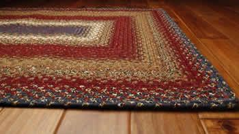 Log Cabin Step Rectangle Rug X 6