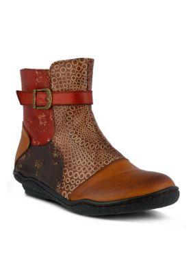 Spring Step Camel Multi Indigo Boot