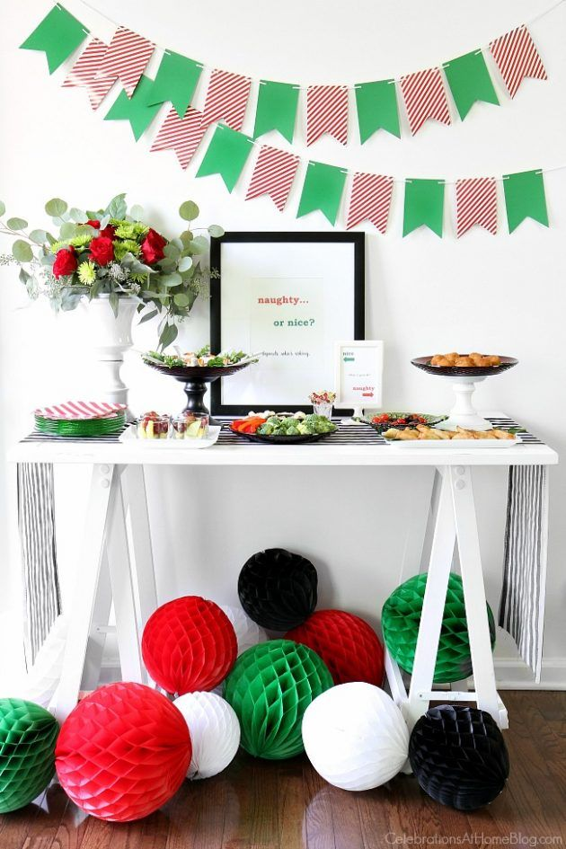 Awesome Naughty Or Nice Christmas Party Ideas Part - 4: Pinterest