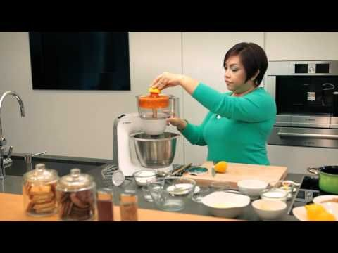 Bosch MUM5 Styline - All-in-One Kitchen Machine - YouTube Bosch - bosch küchenmaschine mum 54251