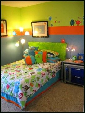 Monster Boy S Room Modern Kids Monster Toddler Room Monster