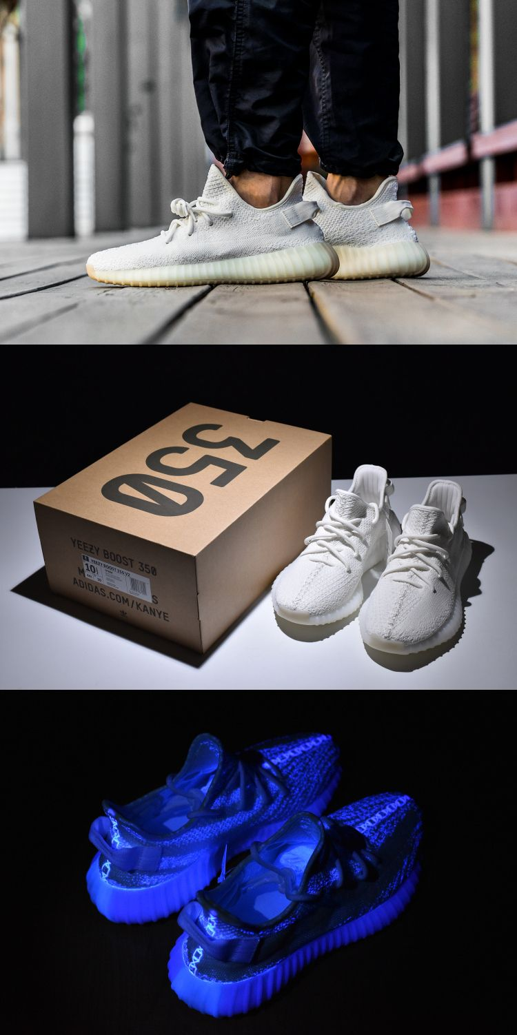 best website 28ed9 a2a5f Yeezy Boost 350 V2 Triple White   sneaker!!!   Pinterest   Yeezy boost,  Sneakers and 350 v2