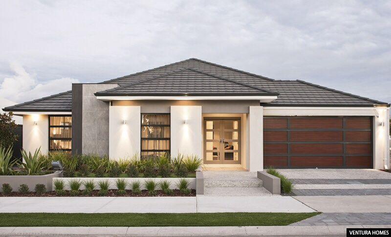 Exterior colour inspiration modern homes ventura homes house house design for Exterior home design consultant