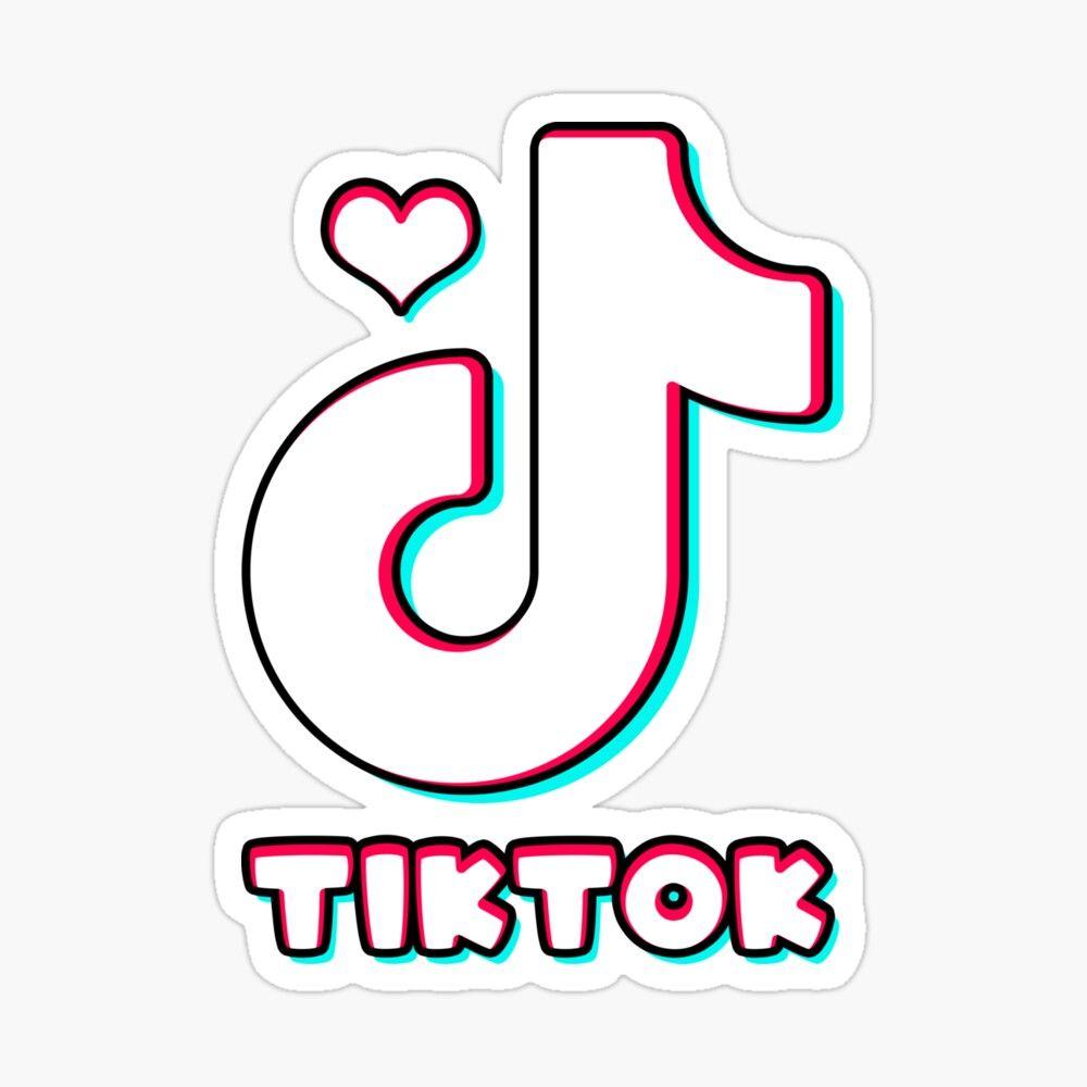 tik tok sticker by yarchy in 2020 snapchat logo