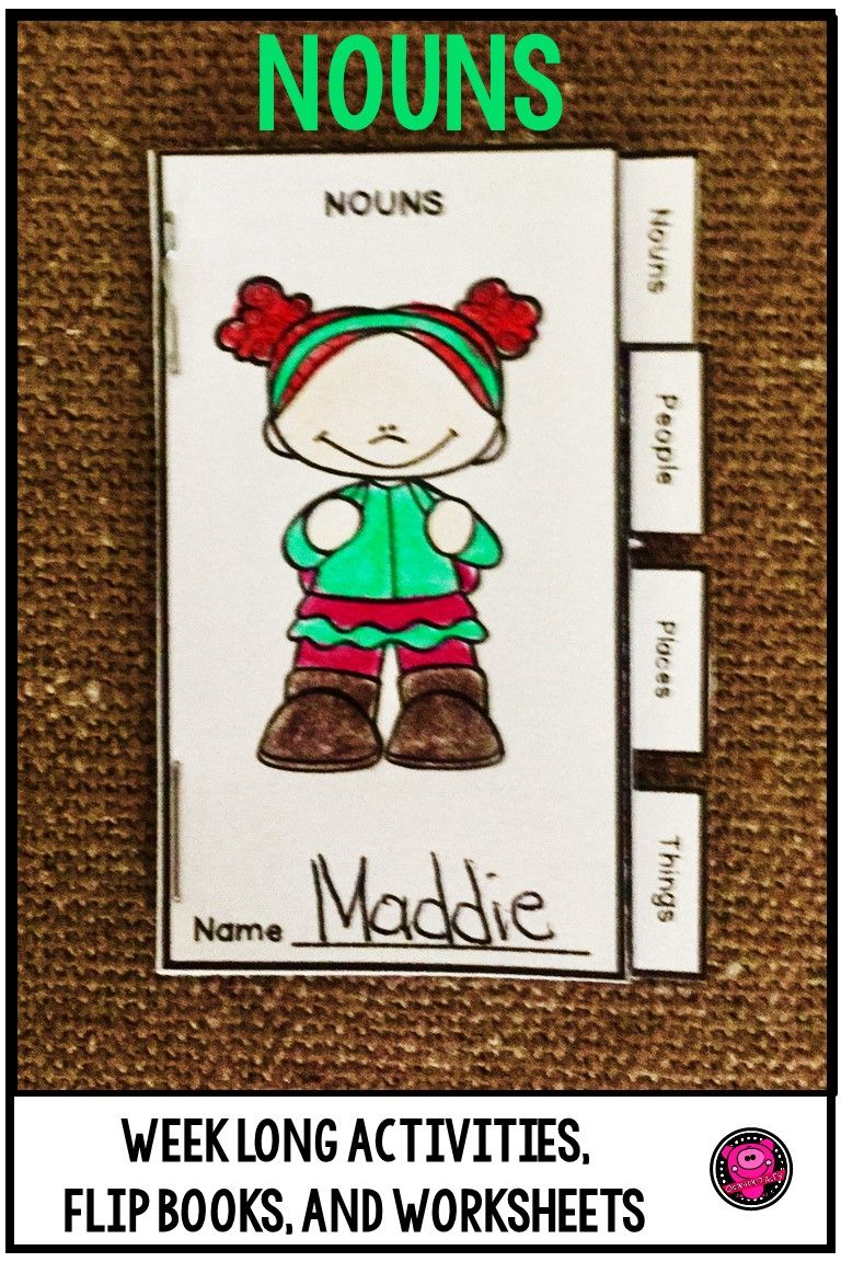 Nouns Kindergarten And First Grade Activities Nouns Activities Nouns First Grade Activities [ 1152 x 768 Pixel ]