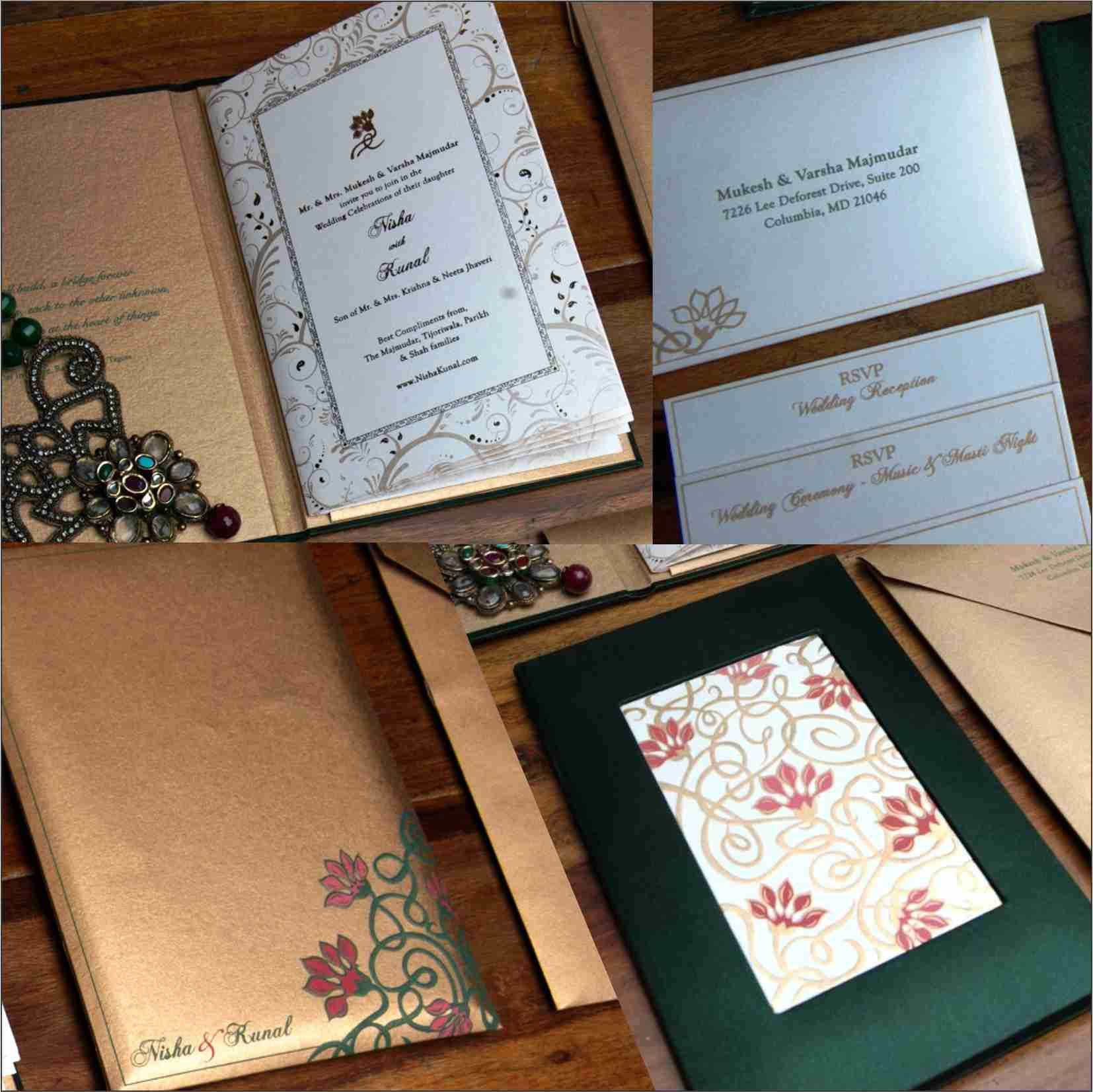 Lotus Jaal Design Printed And Embossed On Pearl White Paper Bound