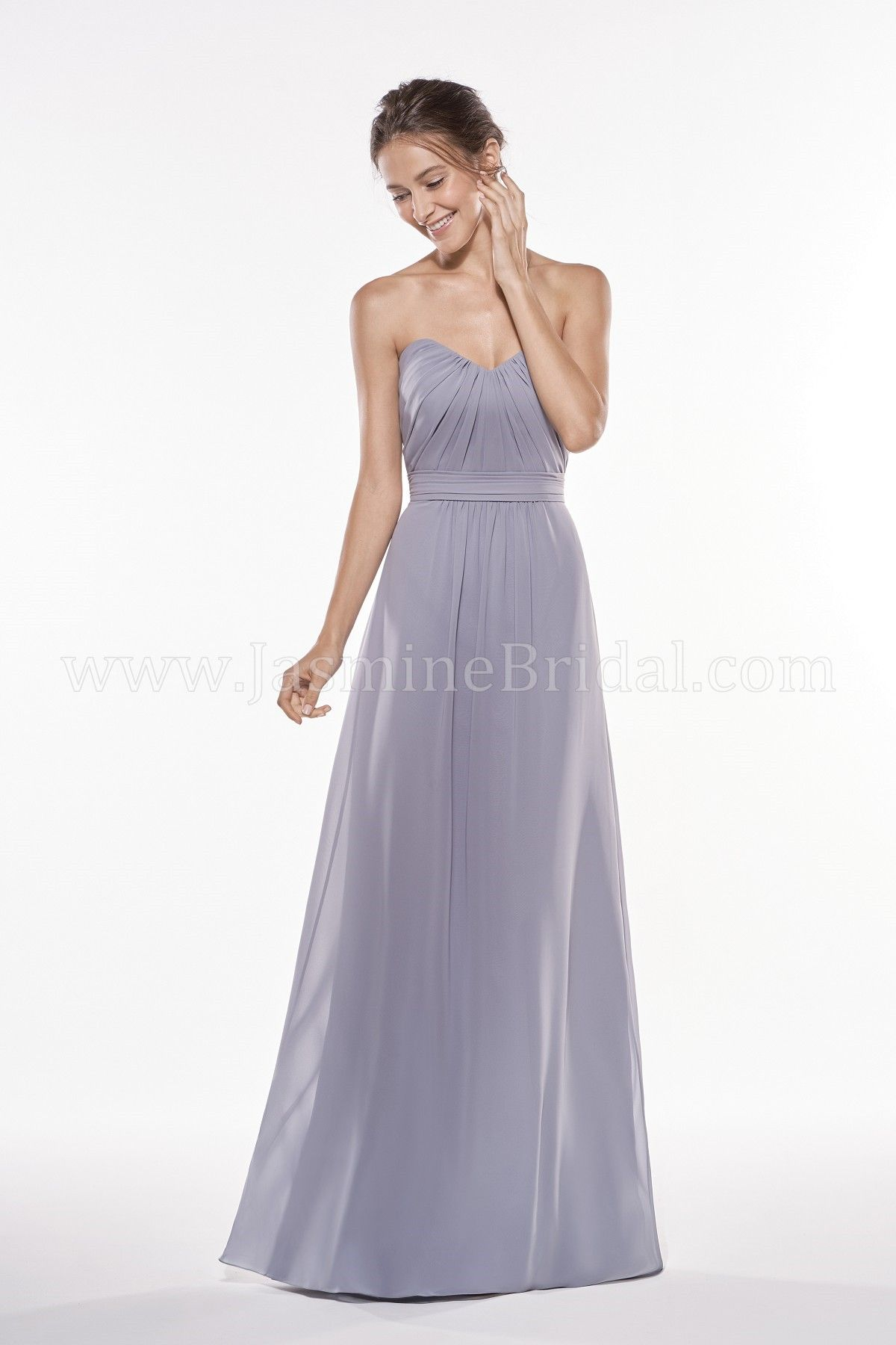 Jasmine Bridal - Jasmine Bridesmaids Style P196005 in Georgette ...
