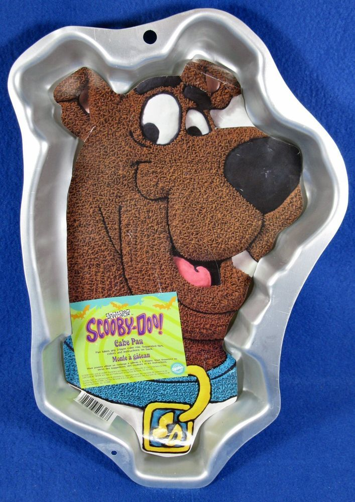Details about Wilton Cake Pan ~ Scooby,Doo ~ 2105,3206 ~ w